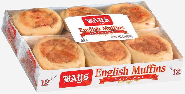 Bays Original 12 Ct English Muffins