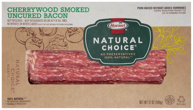 Hormel® Natural Choice® Cherrywood Smoked Uncured Bacon
