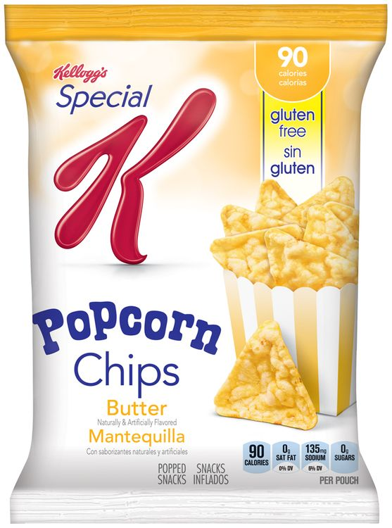 Special K Kellogg S Butter Flavored Popcorn Chips Reviews 2021