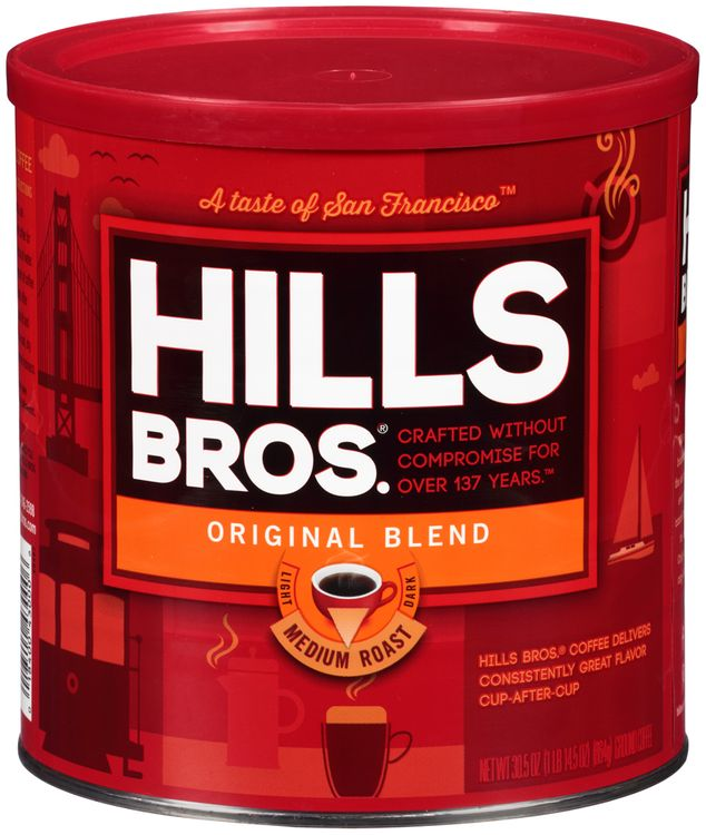 Hills Bros.® Original Blend Medium Roast Ground Coffee
