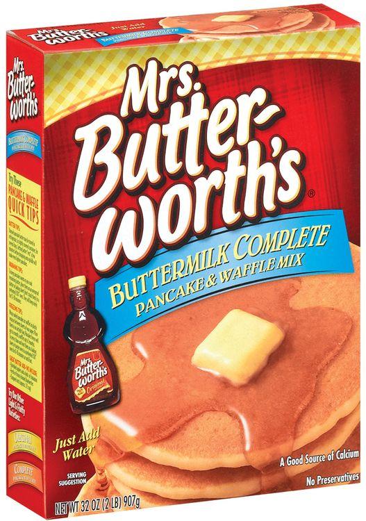 Mrs. Butterworth's Buttermilk Complete Pancake & Waffle Mix