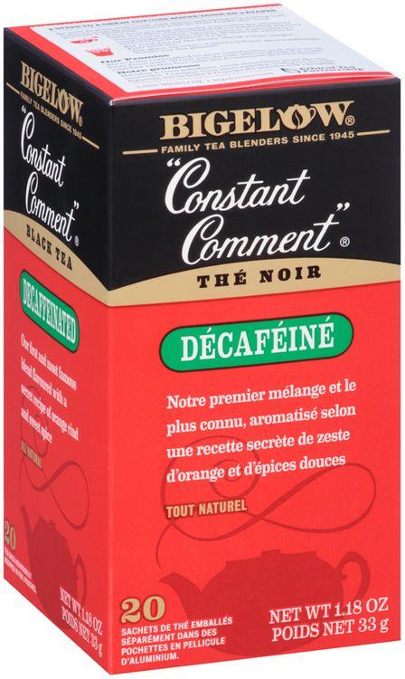 Bigelow® Constant Comment® Decaffeinated Black Tea Bags 20 ct Box