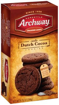 Archway® Homestyle Chocolate Lovers Soft Dutch Cocoa Cookies