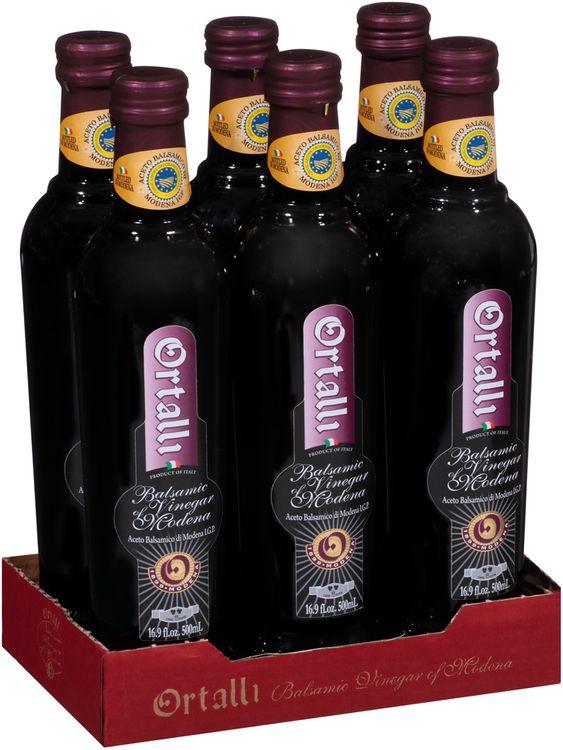 Ortalli Red Label 2 Leaves Balsamic Vinegar of Modena