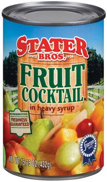 Stater bros In Heavy Syrup Fruit Cocktail