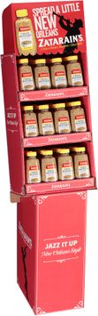 Zatarain's® Creole Mustard Display