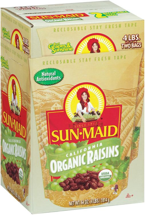 Sun-Maid® Organic Raisins s