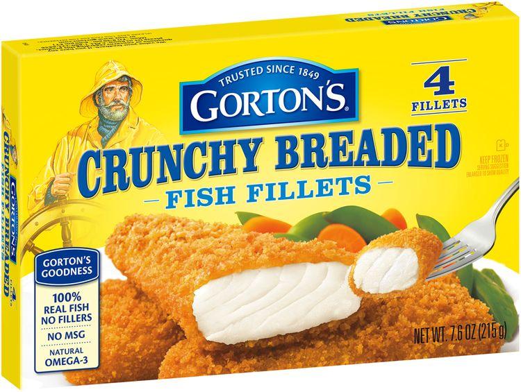 Gorton's® Crunchy Breaded Fish Fillets