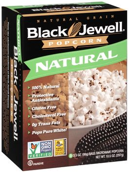 Black Jewell® Natural Microwave Popcorn s