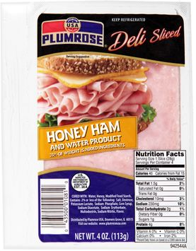 Plumrose® Deli Sliced Honey Ham