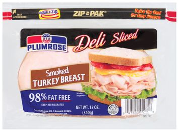 Plumrose Smoked Deli Sliced Turkey Breast