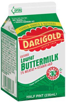 Darigold Lowfat Cultured 1% Milkfat Vitamin A&D Buttermilk