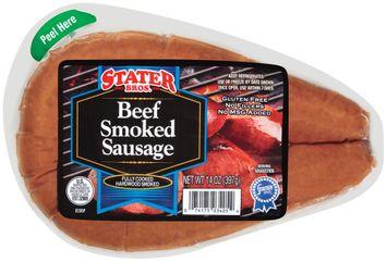 Stater bros Beef Smoked Sausage