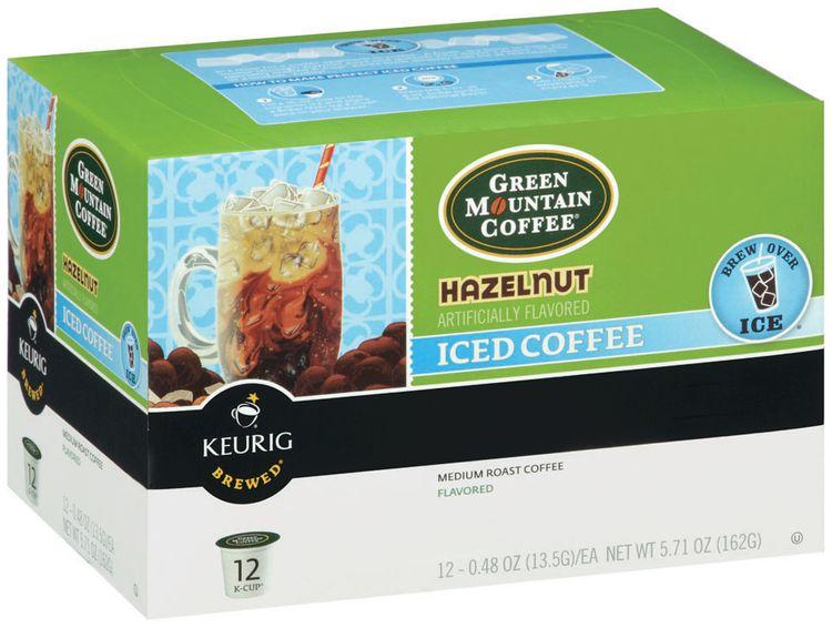 Green Mountain Coffee® Hazelnut Iced Coffee 1 Box