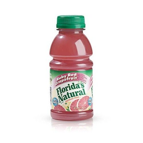 Florida's Natural Ruby Red Grapefruit Juice, 16-Ounce Bottles (Pack of 12)