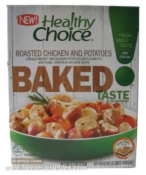 Healthy Choice Roasted Chicken and Potatoes Baked Entree
