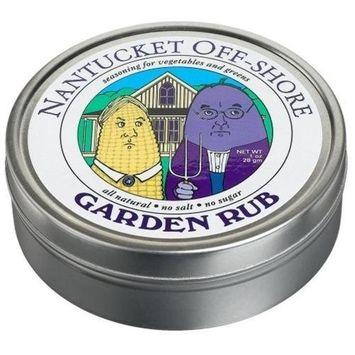 Nantucket Off-Shore Garden Rub, 1-Ounce Tins (Pack of 6)