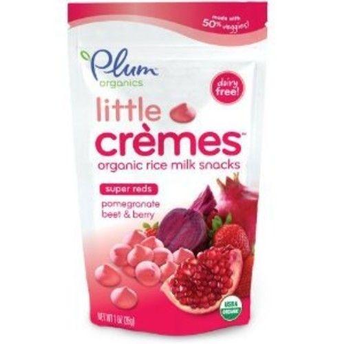 Plum Organics Little Crèmes Organic Rice Milk Snacks Super Reds