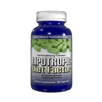 Bionutricals Lipotropic Diet Factor - 60 Capsules Advanced Lipotropics Weight Loss Fat Burner L-Carnitine