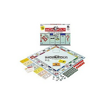 Monopoly Property Trading Game from Parker Brothers, 1 ea