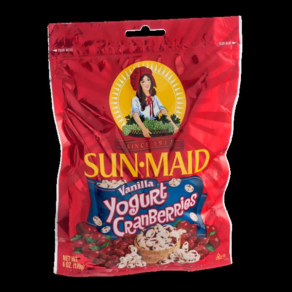 Sun-Maid Vanilla Yogurt Cranberries