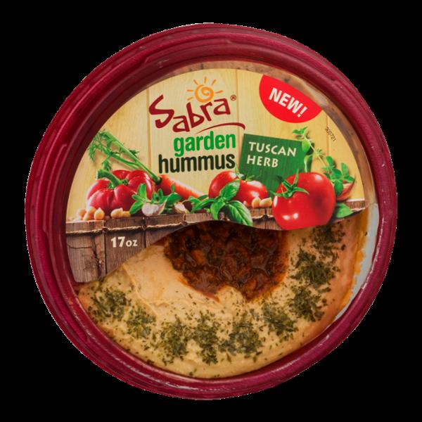 Sabra Garden Hummus Tuscan Herb