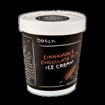 Batch Cinnamon & Chocolate Bits Ice Cream