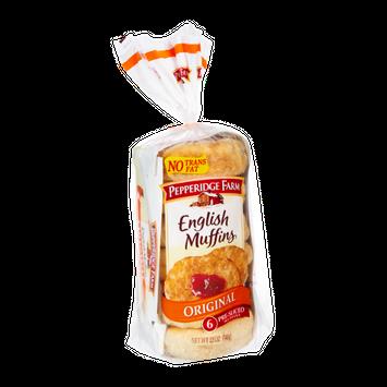 Pepperidge Farm® Original Pre-sliced English Muffins