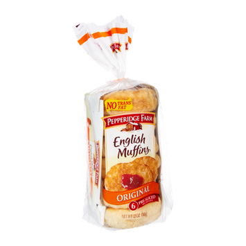 Pepperidge Farm® Original Pre-sliced English Muffins