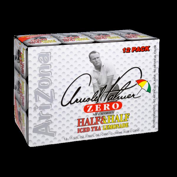AriZona Arnold Palmer Zero Half & Half Ice Tea Lemonade
