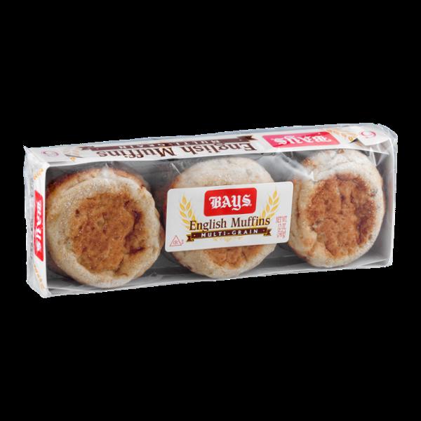 Bays English Muffins Multi-Grain - 6 CT