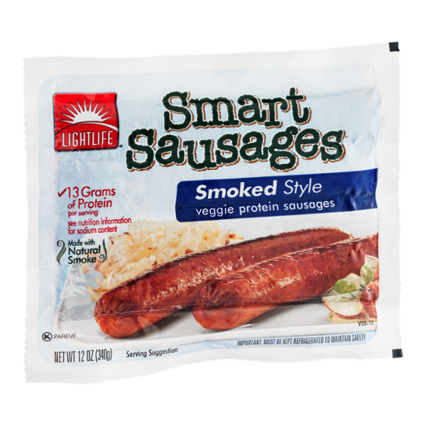 Lightlife Smart Sausages Smoked Style - 4 CT