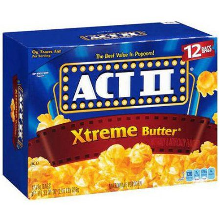 Act II® Microwave Xtreme Butter Popcorn