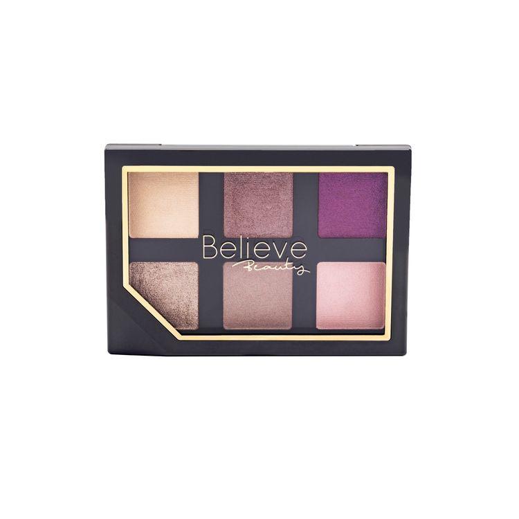 Believe Beauty Eyeshadow Palette - Plush Purples, 1 Ct.