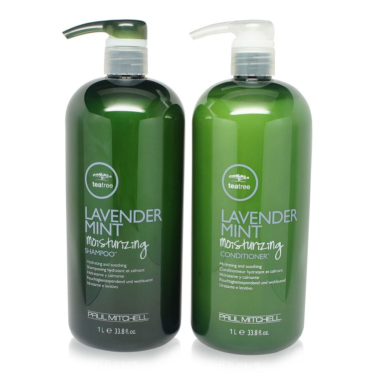 Tea Tree Lavender Mint Shampoo & Conditioner 10.14 Oz.