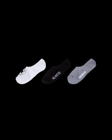 Converse Basic Wordmark No Show Socks
