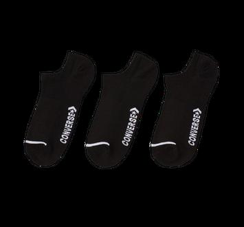 Converse Basic Wordmark No Show 3Pk Socks