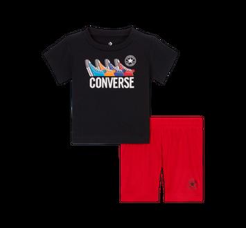 Converse Chucks Sneakers T-Shirt & Shorts