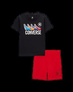 Converse Multi Sneakers T-Shirt & Shorts