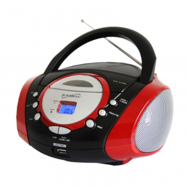 Supersonic Portable Mp3/Cd Player