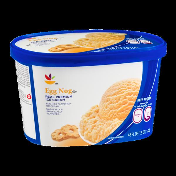 Ahold Real Premium Ice Cream Egg Nog