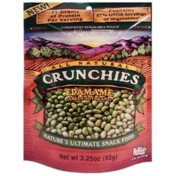 Crunchies - Freeze Dried Vegetable Snack Edamame - 3.25 oz.