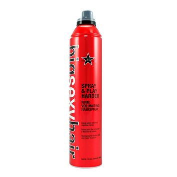 Sexy Hair Spray & Play Harder Firm Volumizing Hairspray