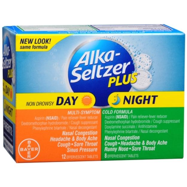 Alka-Seltzer Plus Day & Night