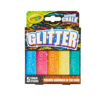 Crayola Special Effects Sidewalk Chalk - Glitter