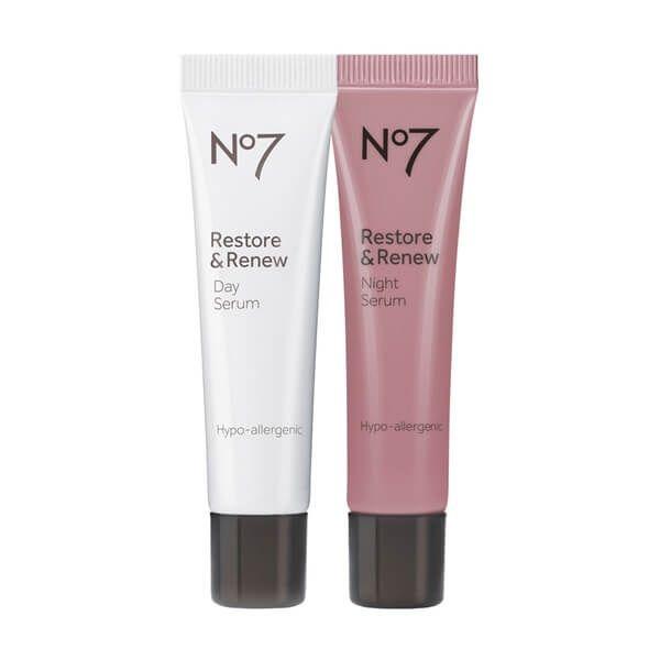 No7 Restore & Renew Day And Night Serum