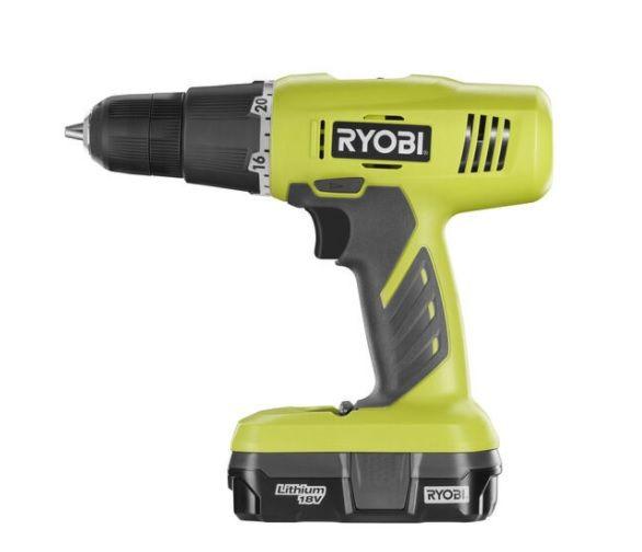 Ryobi 18V ONE+™ Lithium-Ion Starter Drill Kit