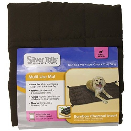 Silver Tails Bamboo Charcoal Multi-Use Pet Mat SML
