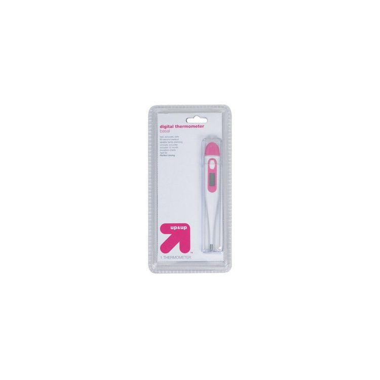 up & up Digital Basal Thermometer - 1 Count
