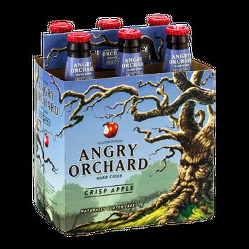 Angry Orchard Hard Cider Crisp Apple - 6 PK